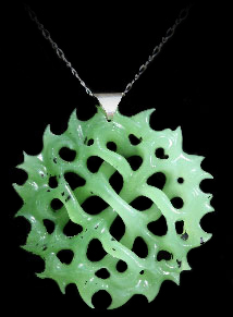 Interlace Jade Sculptured Pendant